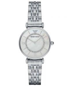 Emporio Armani Ladies Silver Bracelet Watch AR1908