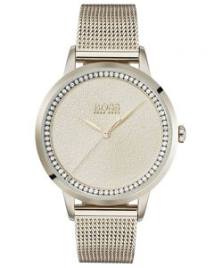 BOSS Ladies Twilight Rose Mesh Bracelet Watch 1502464