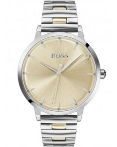 BOSS Ladies Marina Gold Dial Bracelet Watch 1502500