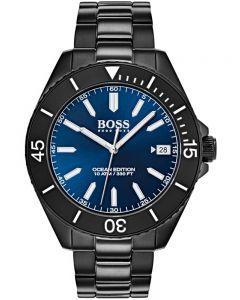 BOSS Mens Ocean Edition Black Bracelet Watch 1513559