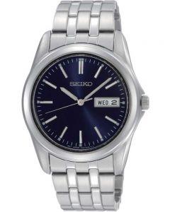 Seiko Mens Discover More Blue Bracelet Watch SGGA41P1