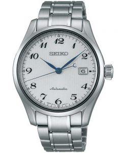 Seiko Mens Presage Automatic Silver Bracelet Watch SPB035J1
