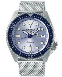 Seiko Mens 5 Sports Mesh Watch SRPE77K1