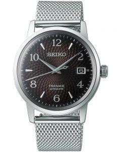 Seiko Presage Cocktail Time Black Russian Bracelet Watch SRPF39J1