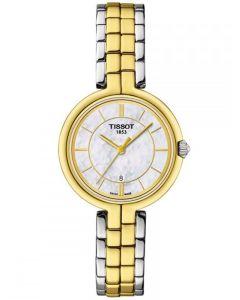 Tissot Ladies T-Lady Flamingo Two Colour Watch T094.210.22.111.01