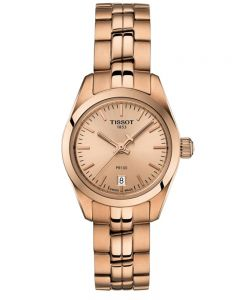 Tissot Ladies T-Classic PR-100 Rose Gold Plated Bracelet Watch T1010103345100