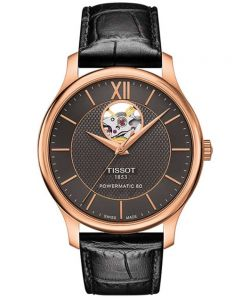 Tissot Mens T-Classic Tradition Strap Watch T063.907.36.068.00