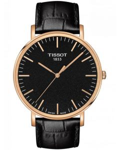 Tissot Mens T-Classic Everytime Large Black Watch T109.610.36.051.00