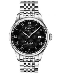 Tissot Mens T-Classic Le Locle Powermatic 80 Bracelet Watch T006.407.11.053.00