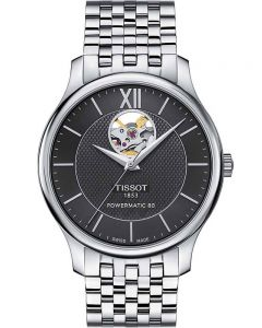 Tissot Mens T-Classic Tradition Powermatic 80 Watch T063.907.11.058.00