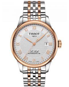 Tissot Mens T-Classic Le Locle Powermatic 80 Bracelet Watch T006.407.22.033.00
