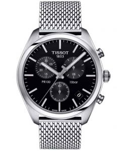 Tissot Mens T-Classic PR-100 Chronograph Watch T101.417.11.051.01