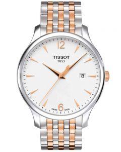 Tissot Mens T-Classic Tradition Bracelet Watch T063.610.22.037.01