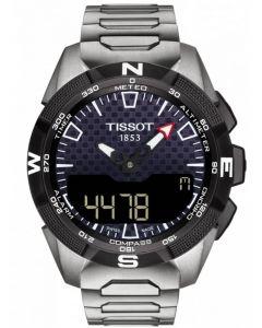Tissot Mens T-Touch Expert Solar II Titanium Bracelet Watch T110.420.44.051.00