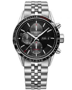 Raymond Weil Mens Freelancer Chronograph Bracelet Watch 7731-ST1020621