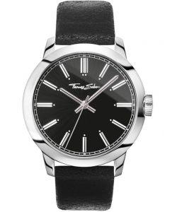 THOMAS SABO Mens Rebel Black Watch WA0312-203-203-46MM