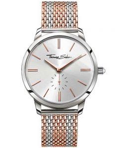 THOMAS SABO Ladies Glam Spirit Mesh Bracelet Watch WA0273-283-201-33 MM