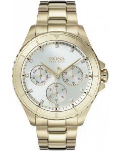 BOSS Ladies Premiere Gold Bracelet Watch 1502445