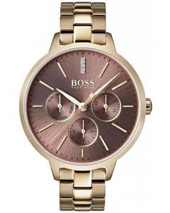 BOSS Ladies Symphony Gold Bracelet Watch 1502422