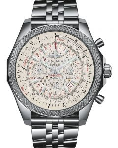 Breitling For Bentley Mens BO6 White Bracelet Watch AB061112/G768 990A