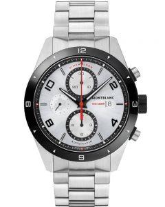 Montblanc Mens Timewalker Chronograph Bracelet Watch 116099