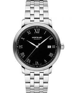 Montblanc Mens Tradition Automatic Date Bracelet Watch 116483