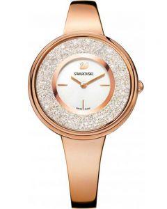 Swarovski Crystalline Pure Rose Gold Tone White Bracelet Watch 5269250