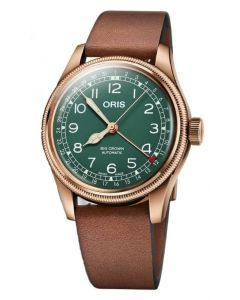 Oris Mens Big Crown Pointer Date 80th Anniversary Edition Watch 754 7741 3167-07 5 20 58BR