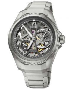 Oris Mens Big Crown Propilot X Caliber 115 Titanium Bracelet Watch 7759 7153-SET MB