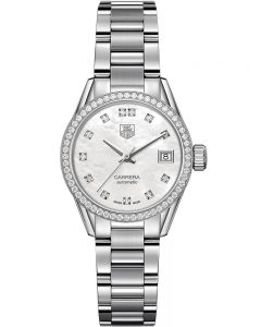 TAG Heuer Ladies Carrera Calibre 9 Bracelet Watch WAR2415.BA0770