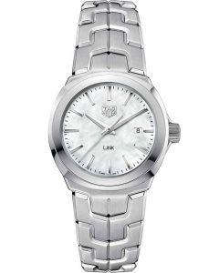TAG Heuer Ladies Link Quartz Mother Of Pearl Bracelet Watch WBC1310.BA0600