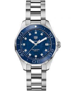 TAG Heuer Ladies Aquaracer Quartz Diamond-set Bracelet Watch WAY131L.BA0748