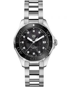 TAG Heuer Ladies Aquaracer Quartz Diamond-set Bracelet Watch WAY131M.BA0748