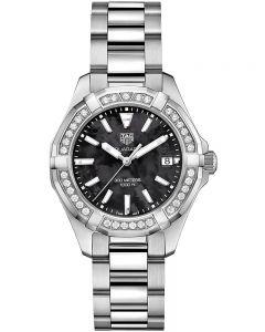 TAG Heuer Ladies Aquaracer Quartz Diamond-set Bracelet Watch WAY131P.BA0748