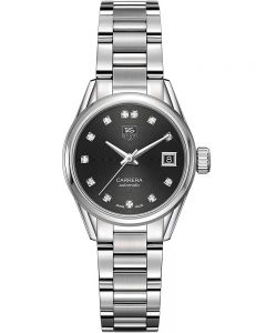 TAG Heuer Ladies Carrera Calibre 9 Diamond Bracelet Watch WAR2413.BA0776