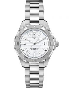 TAG Heuer Ladies Aquaracer Calibre 9 Mother Of Pearl Watch WBD2311.BA0740