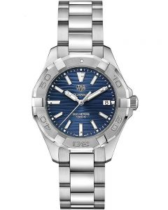 TAG Heuer Ladies Aquaracer Quartz Blue Dial Bracelet Watch WBD131D.BA0748