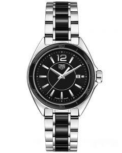 TAG Heuer Ladies Formula 1 Quartz Black Ceramic Bracelet Watch WBJ141AA.BA073