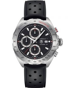 TAG Heuer Mens Formula 1 Calibre 16 Rubber Strap Watch CAZ2010.FT8024