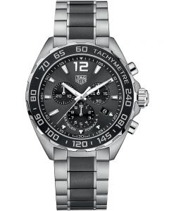 TAG Heuer Mens Formula 1 Quartz Chronograph Black Bracelet Watch CAZ1011.BA0843