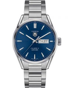 TAG Heuer Mens Carrera Calibre 5 Bracelet Watch WAR201E.BA0723