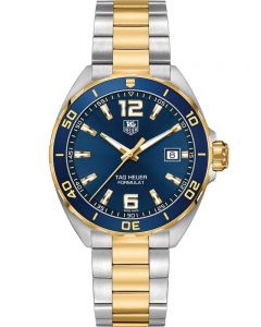 TAG Heuer Mens Formula 1 Quartz Two Tone Bracelet Watch WAZ1120.BB0879