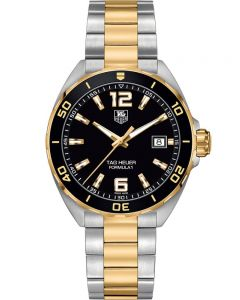 TAG Heuer Mens Formula 1 Quartz Two Tone Bracelet Watch WAZ1121.BB0879