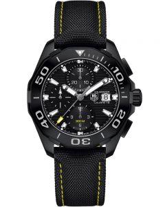 TAG Heuer Mens Aquaracer Calibre 16 Fabric Strap Watch CAY218A.FC6361