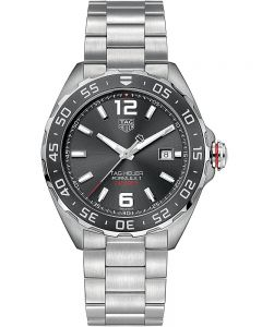 TAG Heuer Mens Formula 1 Calibre 6 Ceramic Black Dial Bracelet Watch WAZ2011.BA0842