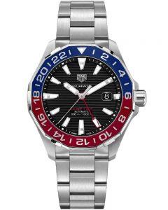 TAG Heuer Mens Aquaracer Calibre 7 GMT Multi-Coloured Bracelet Watch WAY201F.BA0927