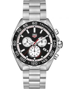 TAG Heuer Mens Formula 1 Quartz Black Chronograph Bracelet Watch CAZ101E.BA0842