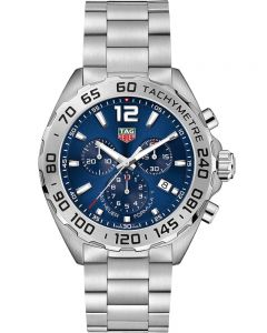 TAG Heuer Mens Formula 1 Quartz Blue Chronograph Bracelet Watch CAZ101K.BA0842