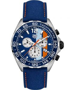 TAG Heuer Mens Formula 1 Gulf Special Edition Watch CAZ101N.FC8243