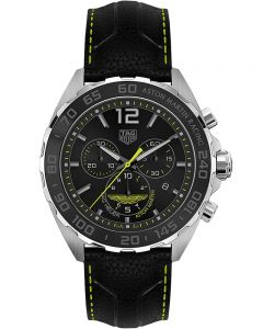 TAG Heuer Mens Formula 1 Aston Martin Special Edition Black Watch CAZ101P.FC8245